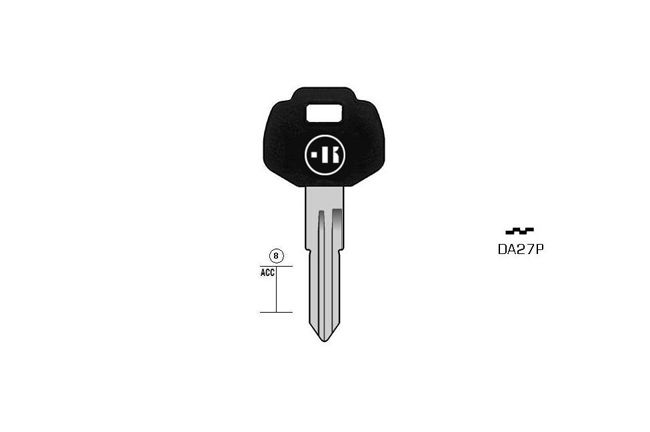 car key steel plastic head KL-DA27P#K141 S-DAT13P BO-1362PS34 JMA-DAT-6P