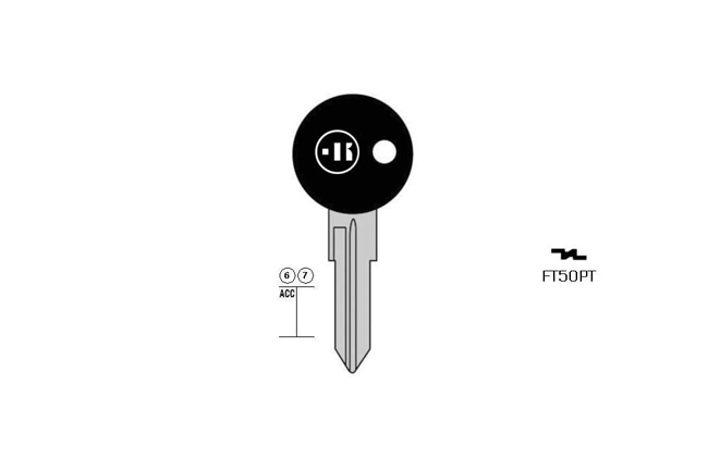 car key steel plastic head KL-FT50PT#K141 S-GT10CP BO-1551PS42 JMA-FI-1P