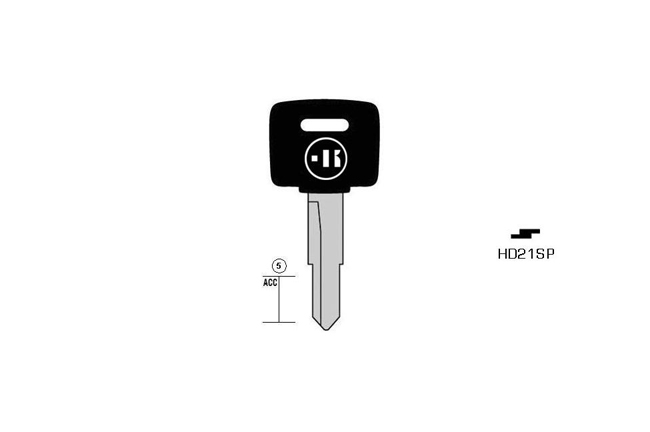 car key Messing plastic head KL-HD21SP#K041 S-HON39P BO-534 JMA-HOND-19P