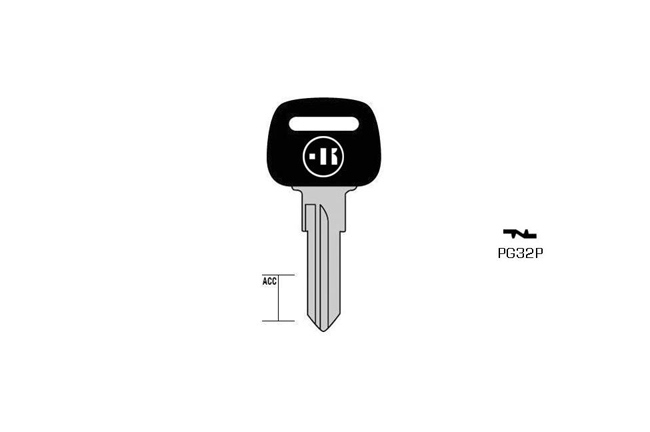 car key Messing plastic head KL-PG32P#K041 S-NE74P BO-17140T10 JMA-NE-45P