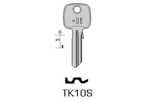 TOP cylinder key KL-TK10S S-TO114RX BO-1617 JMA-WIN-5