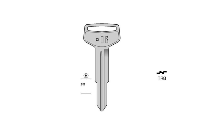 car key Messing KL-TR8 S-TOY30 BO-1437 JMA-TOYO10