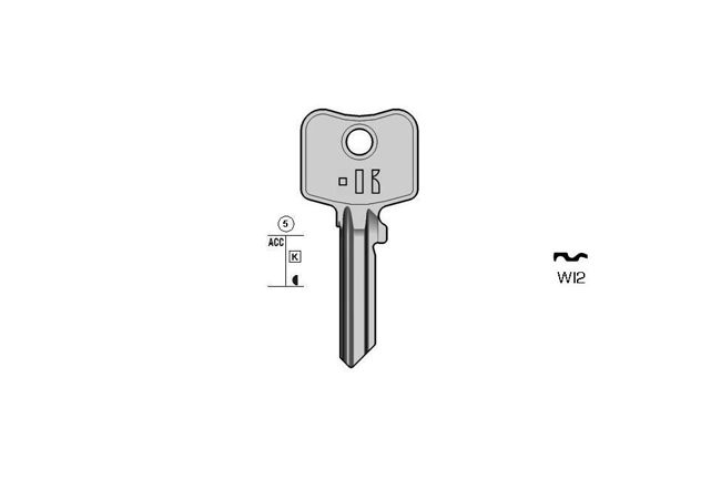 TOP cylinder key KL-WI2 S-WK55 BO-202E JMA-WIL-5D
