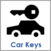 Car Keys / KFZ Schluessel