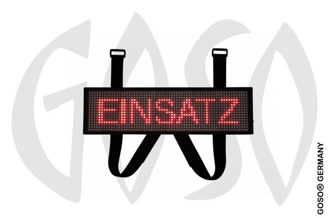 LED Frontwarnsystem Einsatzschild Multicolor WIFI 5765