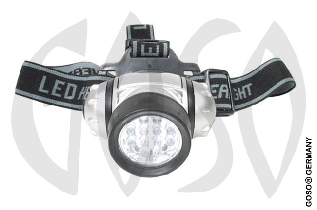 LED-Stirnlampe, 12 LED 7114