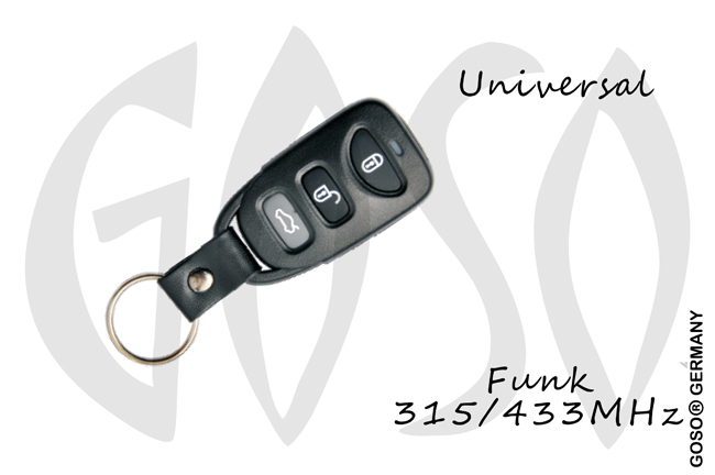 universal KD900 remote key 315/433MHz B09-3 3 button 0633-5
