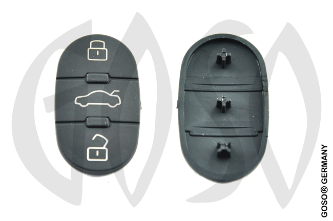 Audi key keypad housing HURSD8 2132