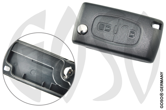 Citroen folding key housing blank 2361