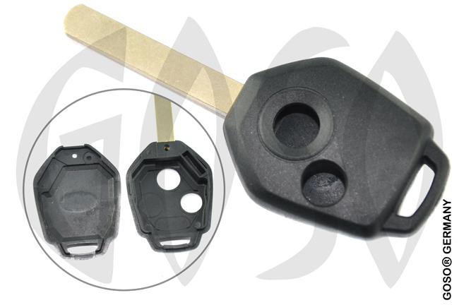 Subaru 2 Button key blank DAT17 2453