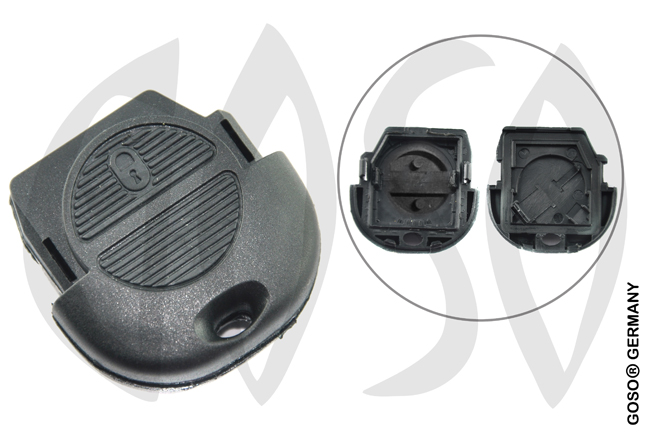 Nissan Almera 2-button folding key housing 2798