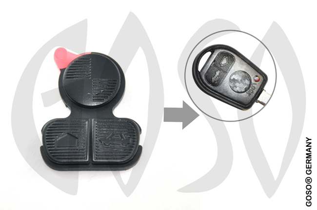 Keypad for BMW  3 buttons  2897
