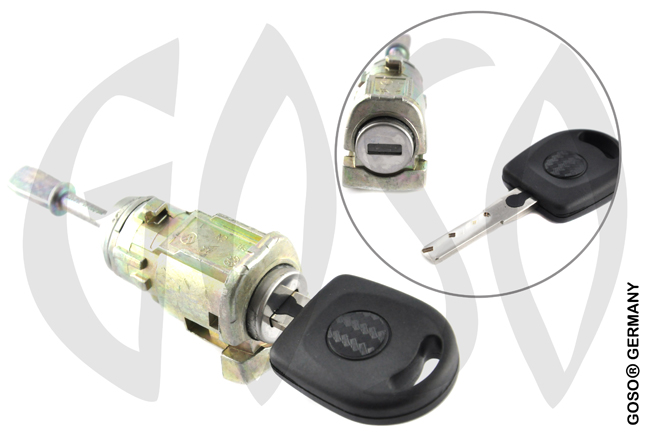 VW old Bora left door lock 3030