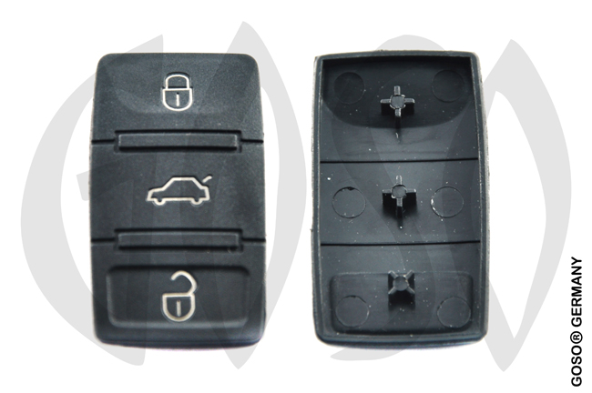 Audi key keypad housing 3665