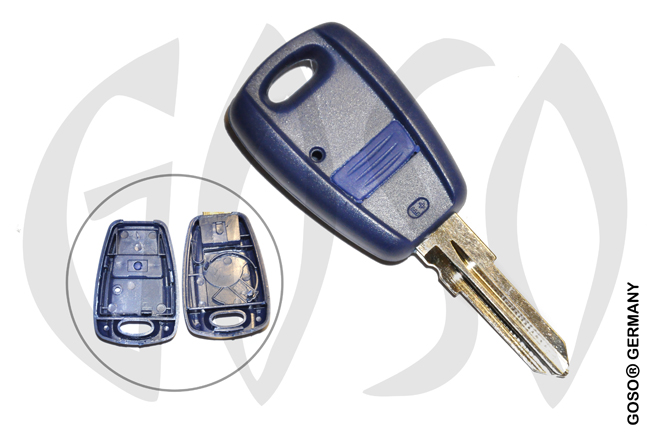 Key Shell for Fiat GT15 1B 4136