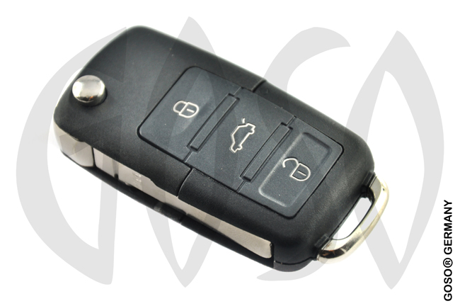 Remote Key for Audi VW Seat Skoda 433MHZ ASK 1K0959753N ID48 3T 4457