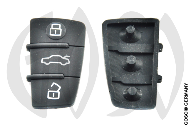 Audi key keypad housing 4570