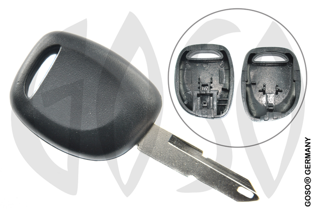 Renault key shell 4778
