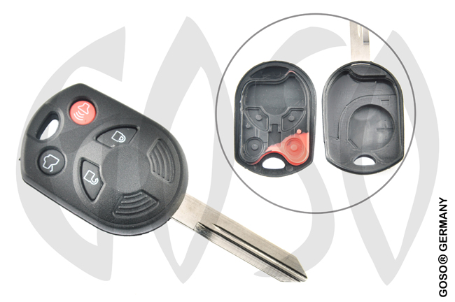 Ford Esscord etc key housing 4 buttons 5300