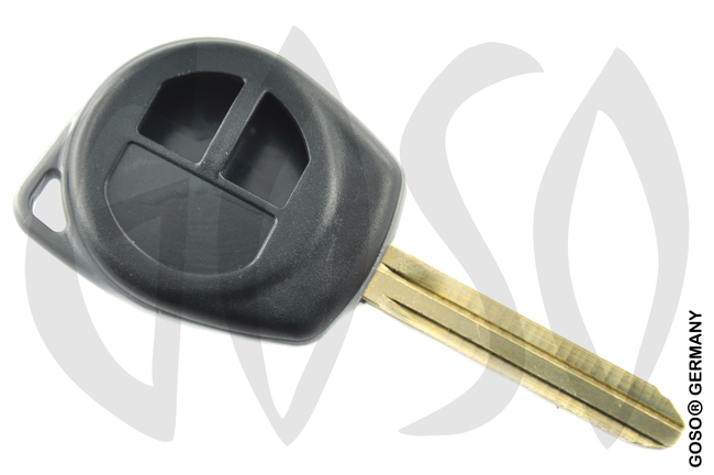 Key Shell for  Suzuki 2 Button key blank 5485