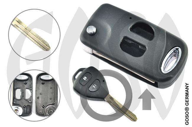 Key Shell for Toyota  5669