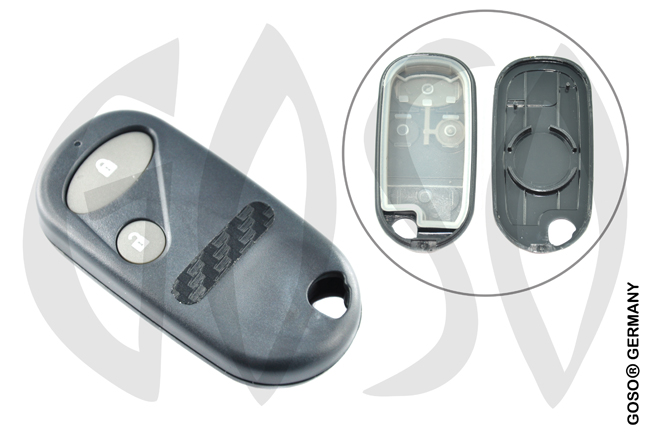 Honda shell 2 buttons 6062