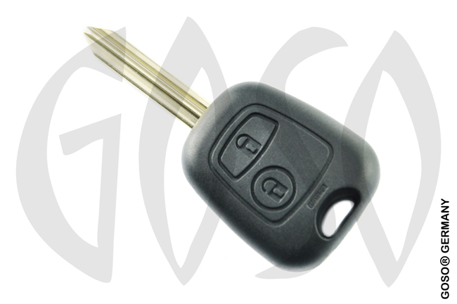 Citroen remote key SX9 2 buttons 6215-2