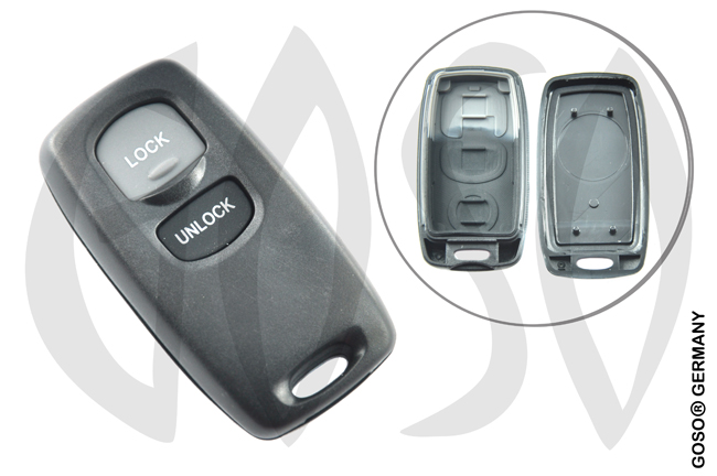 Key Shell for Mazda  2 buttons  6406