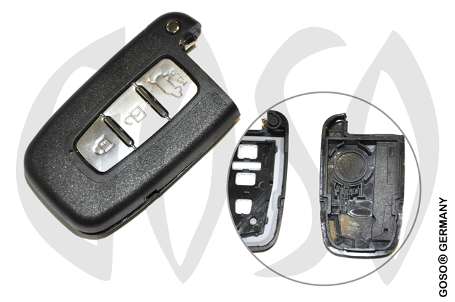 Kia Hyundai Key housing blank 6581