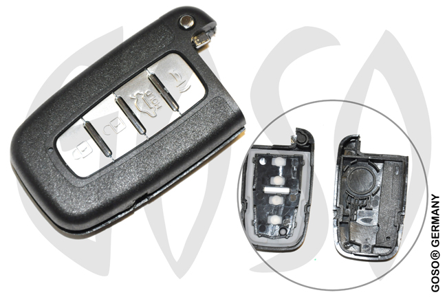 Kia Hyundai Key housing blank 6598