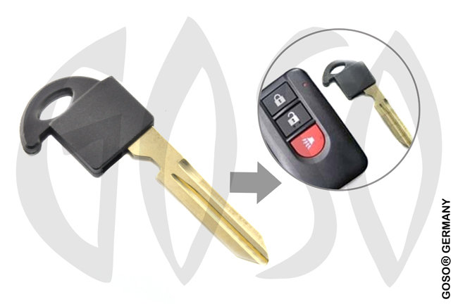 Nissan emergency small key NSN14 8301