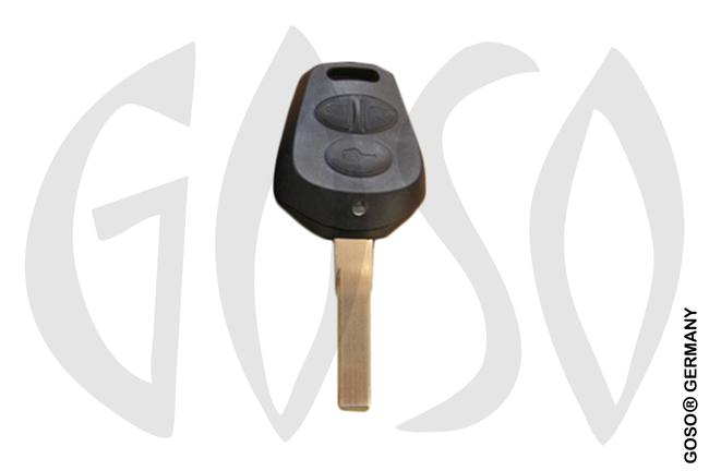 Porsche remote key shell 3 button HU66RS8 8950-2