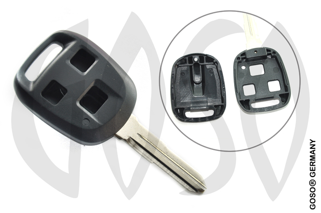 Key Shell for Suzuki Isuzu remote  3 button 9391