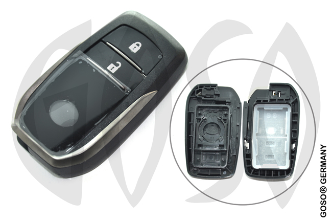 Toyota Corolla Camry Crown smart key shell 2 buttons 9490