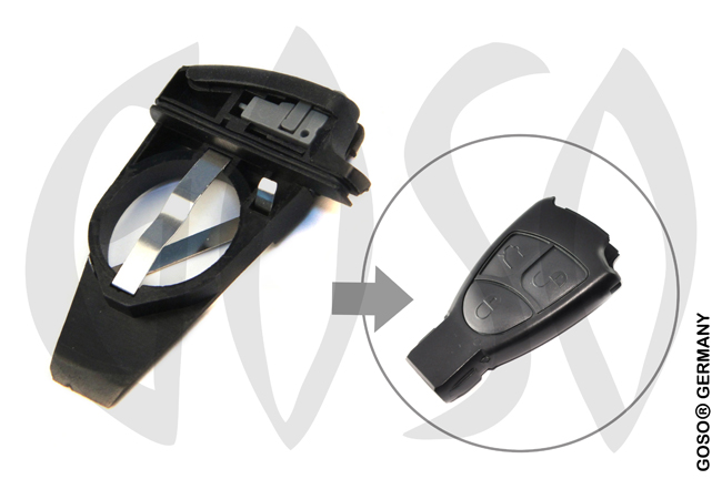 Key Shell for Mercedes Benz remote battery part 9513