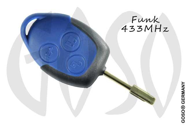 Remote Key for Ford  ID4D63 83 DST40  Transit blue remote unit (2007 onwards) 9629