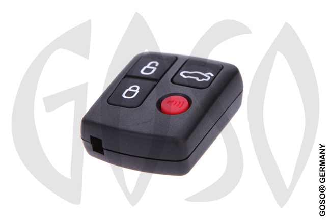 Ford 3+1 button remote key shell 9674