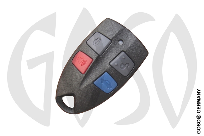 Ford 3+1 button remote key shell 9698
