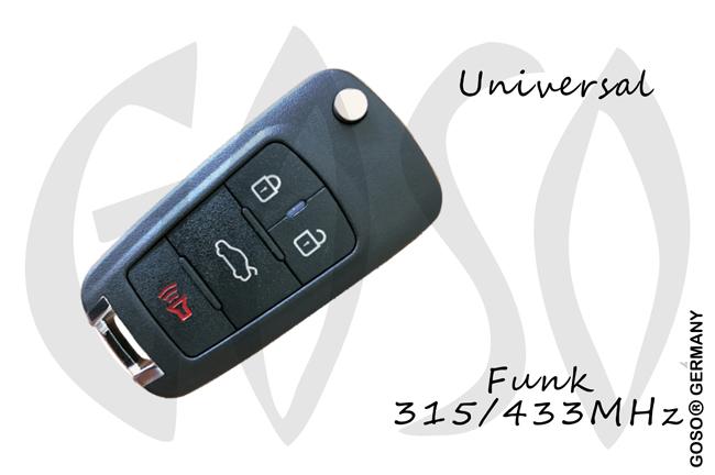 Universal KD900 Funkschlüssel NB18 3T 9964-3