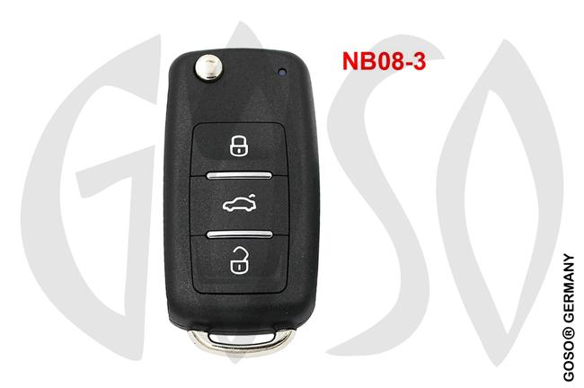 Universal KD900 315/433MHz NB08-3 3T 9964-5