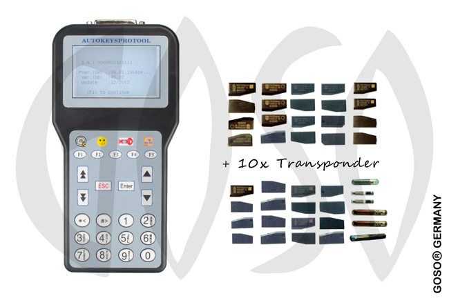 Goso Car Programmer C100 + Transponder CT10