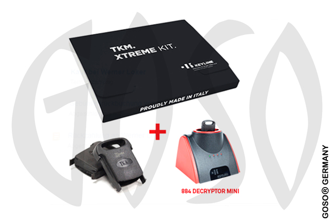 Keyline 884 Decryptor Mini + Xtreme Kit Megamos Crypto Klonen Keyline884M