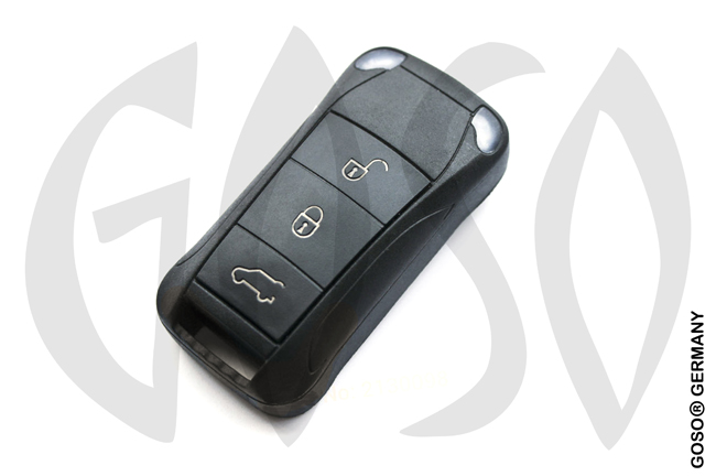 Porsche remote key shell 3 button NE28