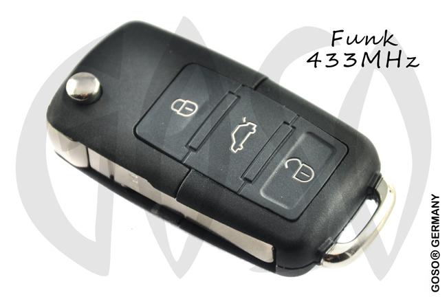 VAG VW Seat Funkschlüssel 5K0959753AG NE82
