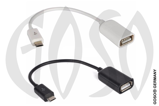 Micro USB OTG Host Converter Cable Adapter USB1
