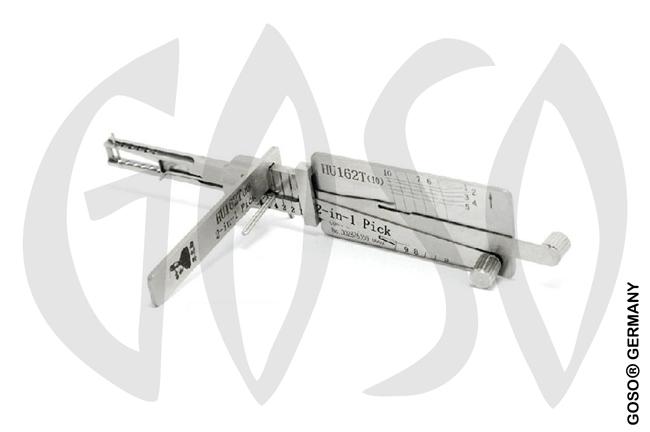 Lishi Lock Pick Audi HU162(10) ab2015 2in1 Tool 5512-2