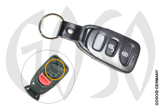 Kia Hyundai Key housing blank 7868