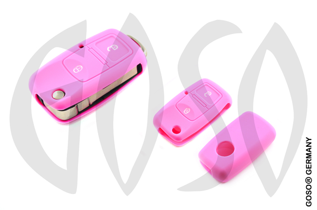 Cover for VW Audi Seat key cover replacement (pink) 8094