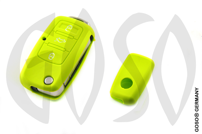 Cover for  VW Audi Seat key cover replacement (green) 8131