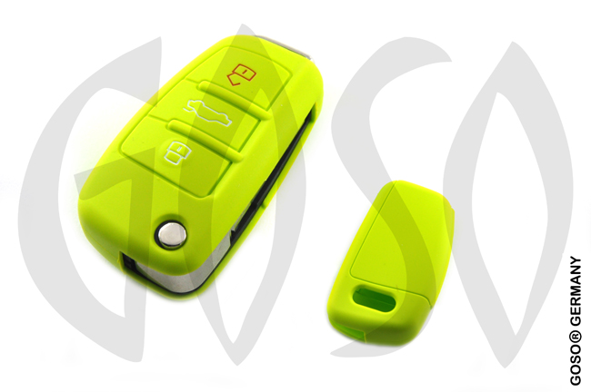 Cover for  VW Audi Seat key cover replacement (green) 8186